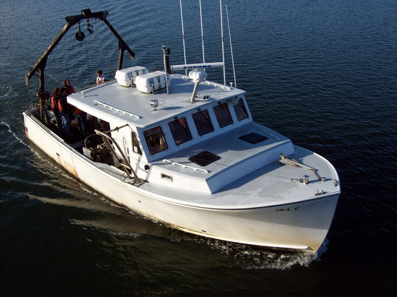 picture of the R/V Ira C.