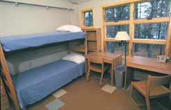 picture of empty dorm room