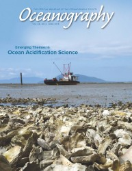 Cover image of Oceanography (Volume 28 , Number 2)