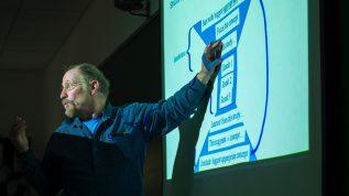 picture of a scientific talk